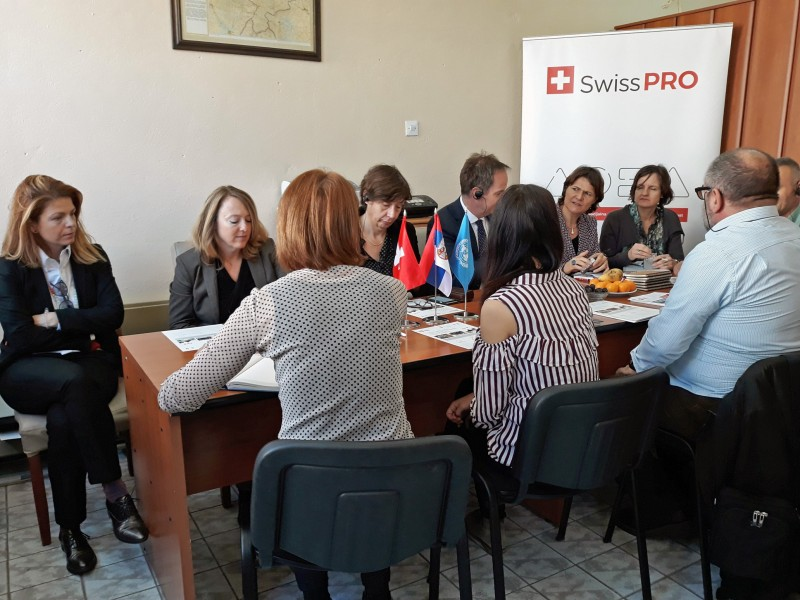 Висока делегација Швајцарске посетила корисника Swiss PRO подршке у Новом Пазару