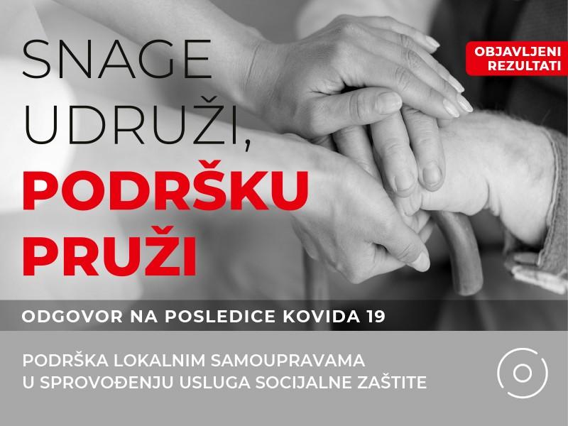 Podrška Vlade Švajcarske u sprovođenju usluga socijalne zaštite kao odgovor na posledice kovida 19
