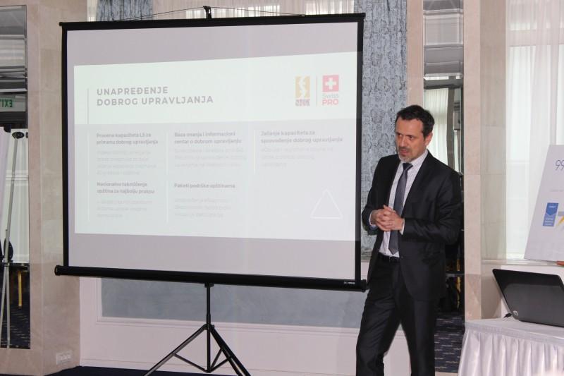 Више од 200 представника и представница из 86 локалних самоуправа у Србији информисано је о подршци Владе Швајцарске развоју општина кроз програм Swiss PRO.