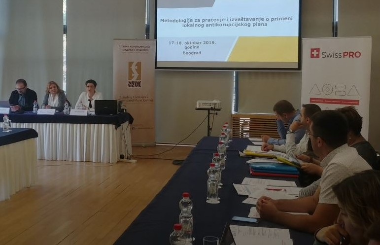 Održana radionica o metodologiji za praćenje i izveštavanje o primeni lokalnog antikorupcijskog plana