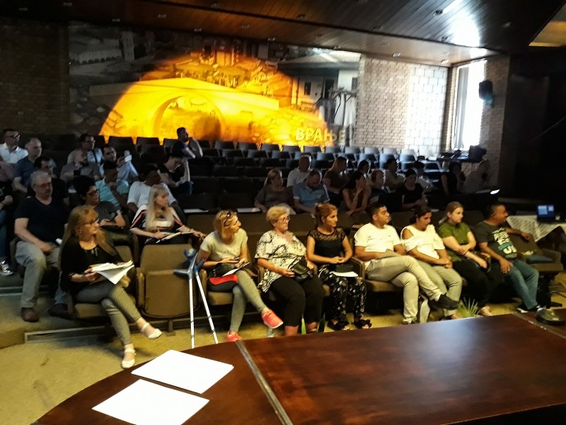 The presentation od the Social Innovative Calls in Vranje
