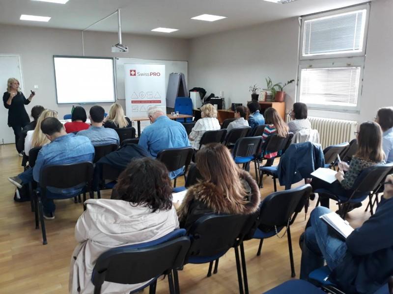 Calls presentation in Kragujevac