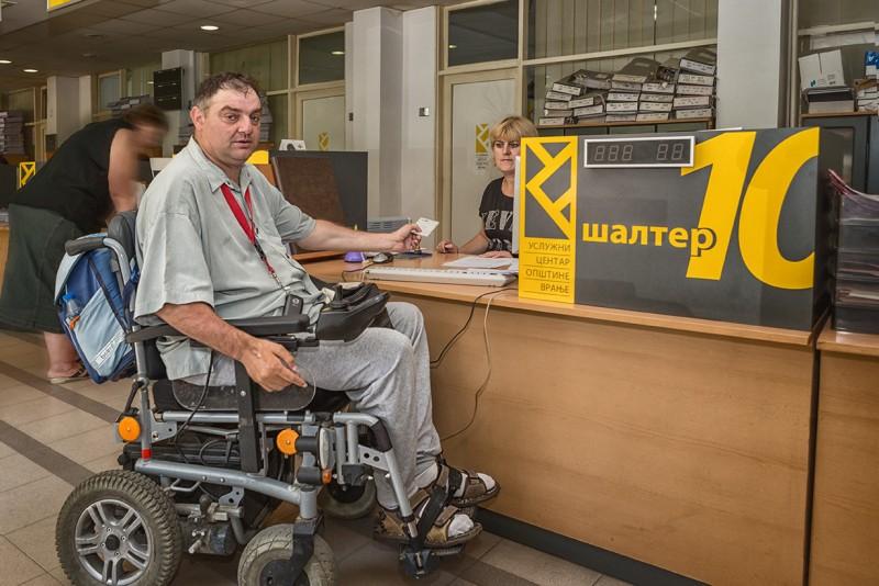 Podrška socijalnoj uključenosti osoba sa invaliditetom, Vranje