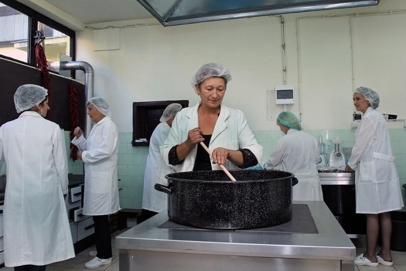 Priprema domaćih proizvoda u socijalnom preduzeću, Lebane