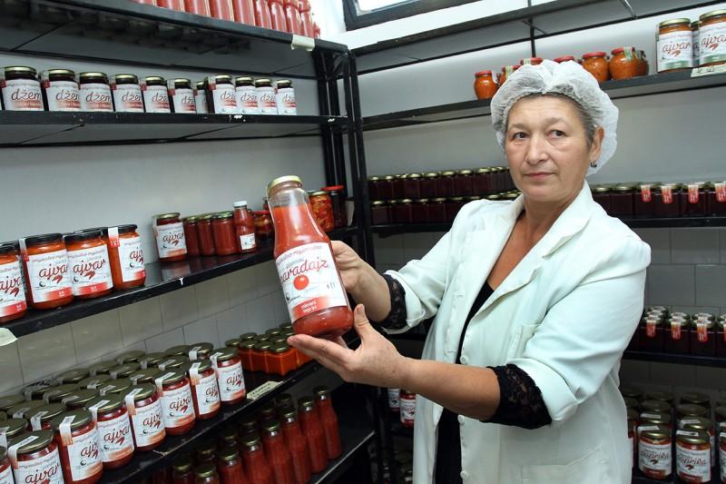 Otvaranje fabrike za proizvodnju prehrambenih proizvoda, Lebane